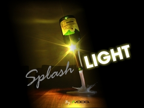 SplashLIGHT | Up-cycle Any Bottle Into a Beautiful Feature Lamp
