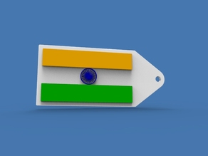3DShilp Independence Day Special - Indian Flag Keychain