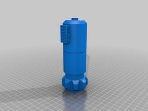 Luke's Lightsaber in 3 Parts for easier printing