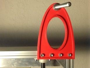 Simple Aluminatus Spool Holder