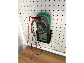 Mastech digital multimeter peg board holder