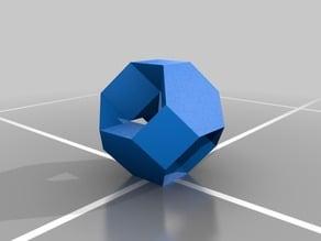 truncated octahedral stewart toroid