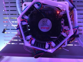 MKS smoothers annular mount on 120mm fan