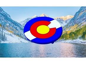 Colorado Flag Pop Socket Cover