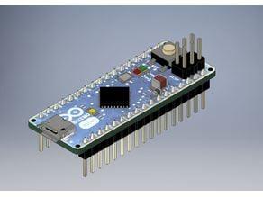 Arduino Micro - 3D Model - 1:1
