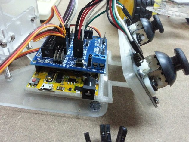 JoyStick Controller for Arduino UNO by JohnTan86 - Thingiverse