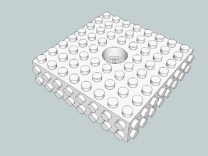 Airsoft Lego Flash Hider