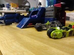 Transformer Titan master vehicles