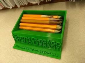 "NCPL 3.5"" pencil holder"
