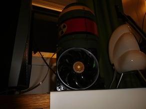 Cooler Master Sickleflow 120mm fan performance mod.