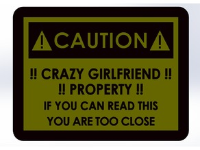 Warning signal (Crazy Girlfriend)