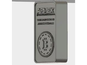 Bitcoin Bullion Silver Bar
