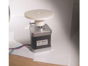 rotary table for 3D Scanner Nema 17 / 5mm