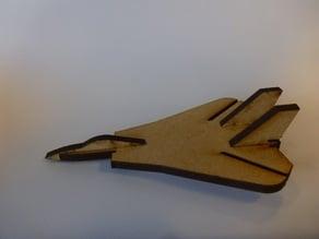 Lasercut mini F14 Tomcat