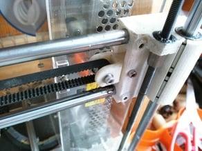 Reinforced Prusa i3 X belt tensioner
