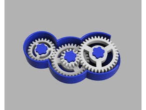 Parametric Gear Toy