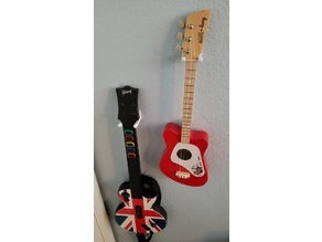 Loog Mini Acoustic Guitar Wall Mount