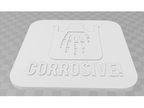 Corrosive Signage