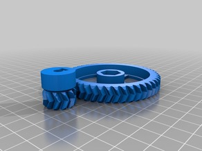 Big and Small Herring Bone Gear Prusa I3