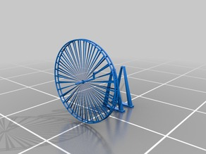 A 3D Ferris Wheel that works