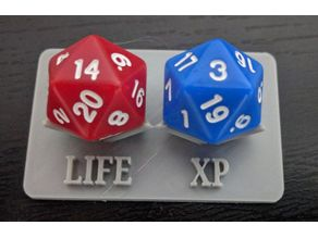 Gloomhaven life counter D20