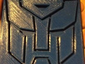 Transformers Autobot Coaster