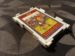 Catan Card Tray/Holder Snapable & Stackable, taller