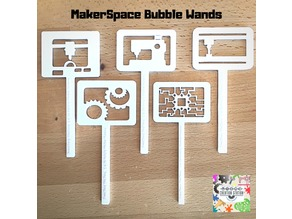 MakerSpace Bubble Wands