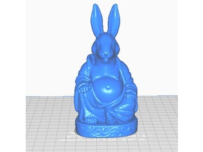 Bunny Buddha (Animal Collection)