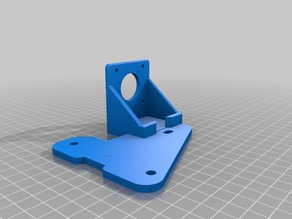 Nema 17 CR-10 / CR-10 S Dual extrusion mount
