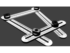 Angle Measuring Tool with Increments