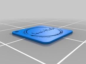 Invihub full logo keychain