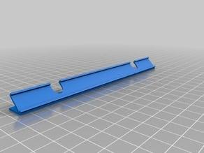 LED strip holder 150mm (45 degrees)