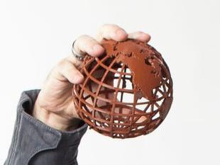 Gridded Globe
