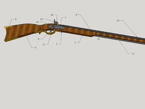 musket 1/4/ scale