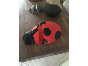 Lady bug phone stand