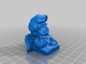 Singing Angel - 3D Scan