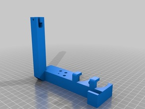 Tool and sd card holder for Prusa Mendel