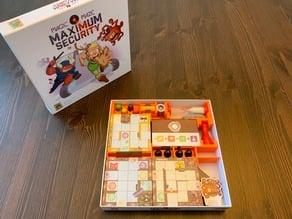 Magic Maze Insert in Maximum Security Expansion Box