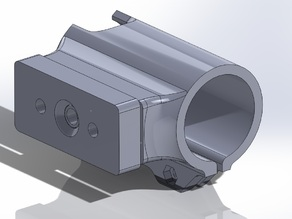 Bullet Camera Suction Motorbike Helmet Mount