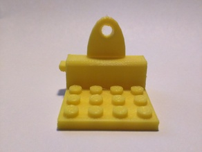 Minifig Wall Mount