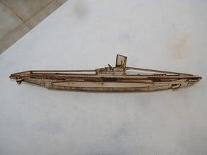laser cut type VII U-Boot