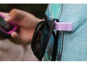 Clip-On Eyeglasses Holder