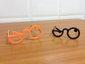 Incredulous party glasses