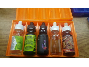 Simple 30ml Vape Juice Case (1 - 5 Bottles)