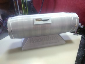 Boombox MP3 Player