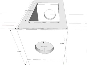 21mm x 15mm box switch enclosure