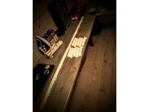 Extendable RGB-LED-Stripe 45° Wallmount