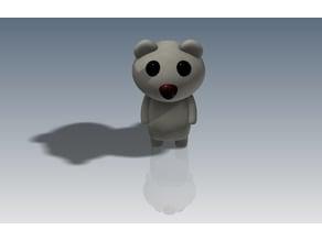 Creepy bear