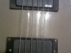 Gibson / Epiphone Les Paul EMG Humbucker Pickup Mount TOP + BOTTOM